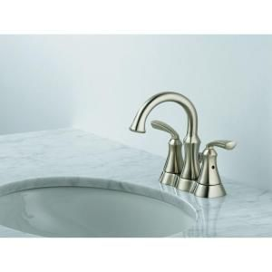 High Arc Bathroom Faucet in Stainless-25962LF-SS at The Home Depot