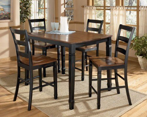 Cedar Heights Counter Height Dining Set By Famous Brand