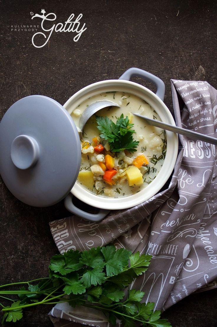 Kulinarne przygody Gatity - przepisy pełne smaku: Klasyczna zupa kalafiorowa