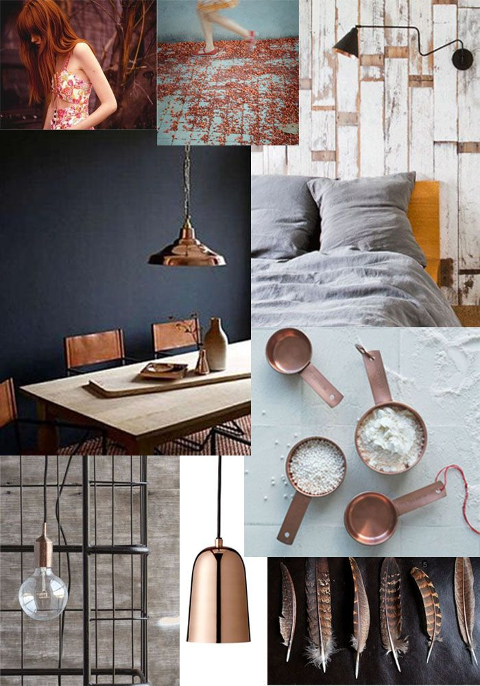 BODIE and FOU★ Le Blog: Inspiring Interior Design blog by two French sisters: Getting in the Copper Mood...