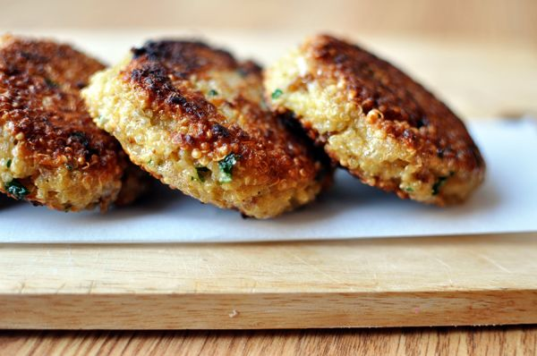 quinoa patties add green onions amp finely chopped bell peppers to amp ...
