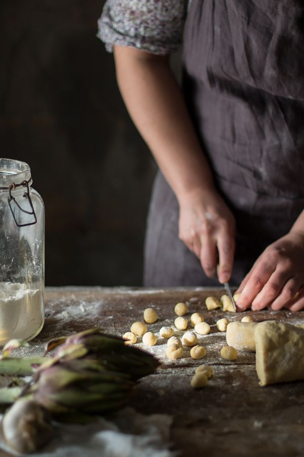 Gnocchi di ricotta con carciofi e timo | Smile, Beauty and More