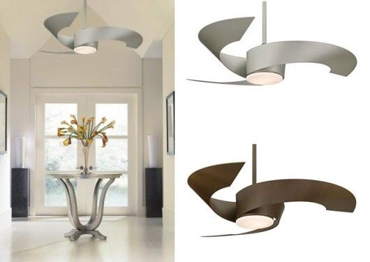 ceiling fan with light design 530x375 Modern Ceiling Fans for Interiors Decoration