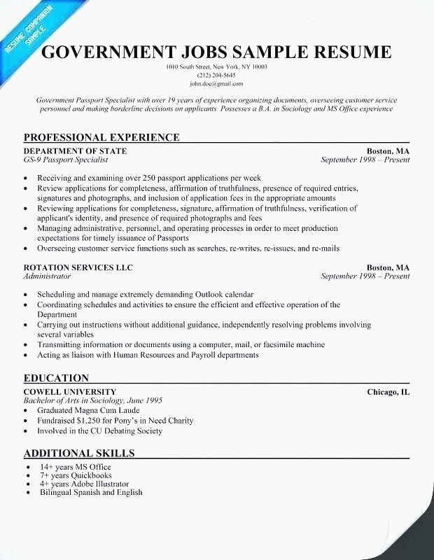 65 Beautiful Image Of Examples Of Good Resumes With No Work Experience