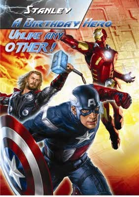Who's your hero? Avengers greeting cardsGreeting Card