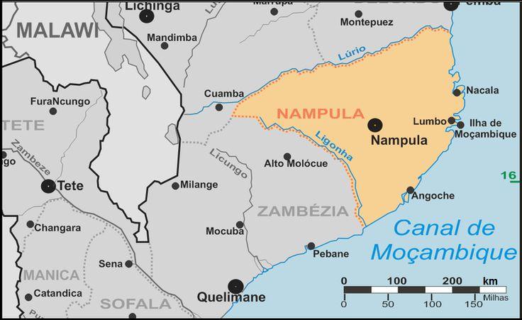 Aerodromo Base 5 Nacala - Moçambique - MAPA- Pesquisa do Google