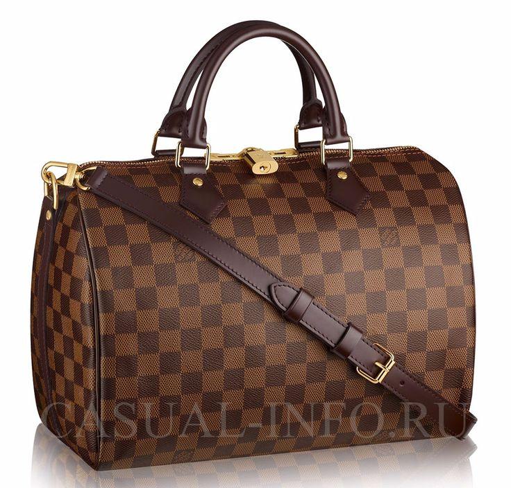 Cумка Speedy bag, ткань Damierl Луи Виттон