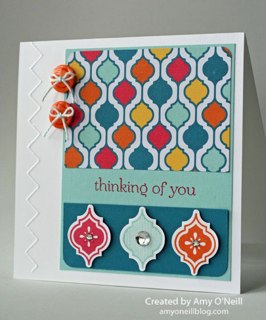 240 best modern mosaic cards images on pinterest cards card ideas by amy oneill amys paper crafts do it yourself solutioingenieria Images