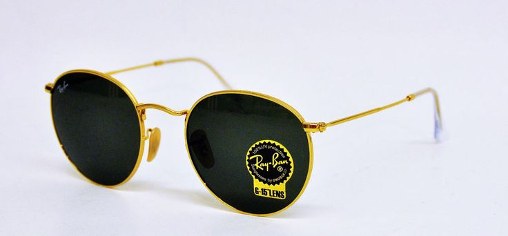 Ray Ban Round Metal in GROß 53er
