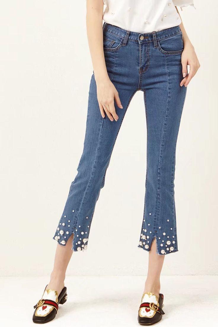 как удлинить короткие джинсы советы с фото сайте