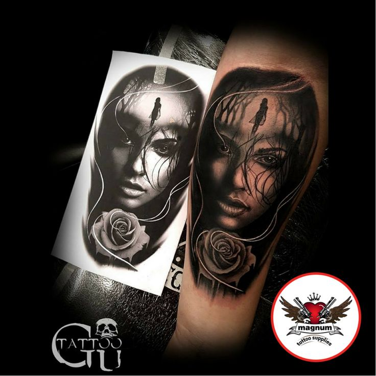 Stunning tattoo made with #magnumtattoosupplies from Tattoos by Gavin Underhill 👍🏻💪💪