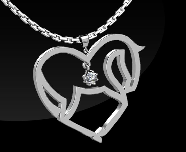 THE HEART OF THE HORSE PENDENT For something special for you someone special you can't go past the heart of the horse sterling silver pendent and chain. RRP $295 To order email russellwilma@aol.com