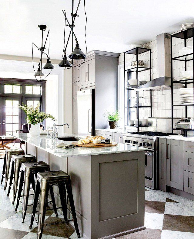 Grey Kitchen Pinterest: 17 Best Ideas About Light Grey Kitchens On Pinterest