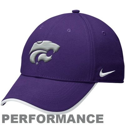 Nike Kansas State Wildcats Legacy 91 Dri-FIT Adjustable Coaches Cap - Purple,  $21.95