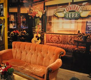 """Eight O'Clock Coffee gave fans of """"Friends"""" the ultimate experience with their pop-up coffee shop, Central Perk."""