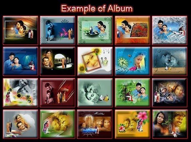 Indian wedding photo album design software free download full version