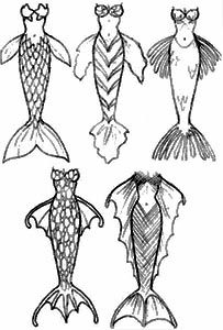 How to Draw Mermaids and Merfolk... I may have to become more than one kind of mermaid! ...hmm... an evil mermaid perhaps? It could happen!