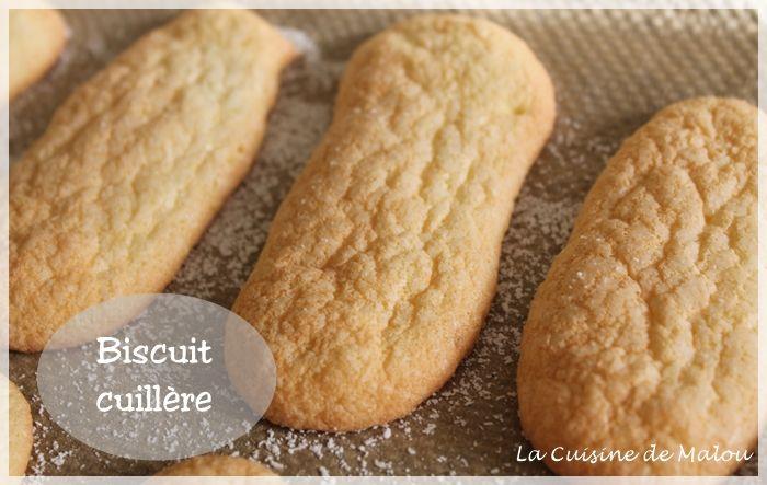Les biscuits cuillères maisons, simples et trop bons !! (CAP pâtissier) La cuisine de Malou