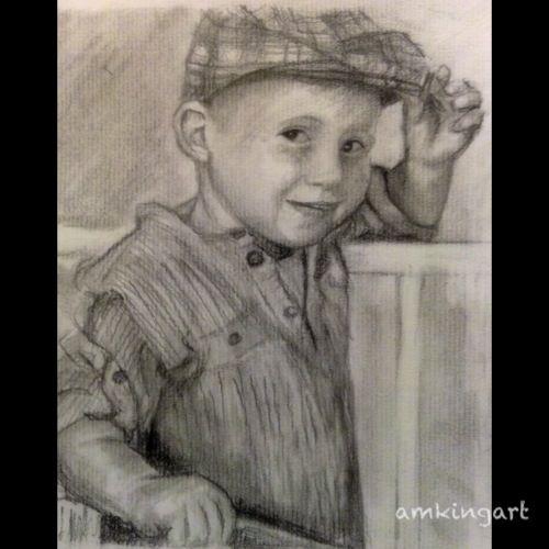 Young boys portrait