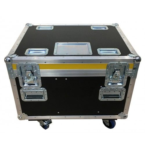 Road Trunk for Point of Rigging with 2x 12mm fixed divisions from Best Flight Cases