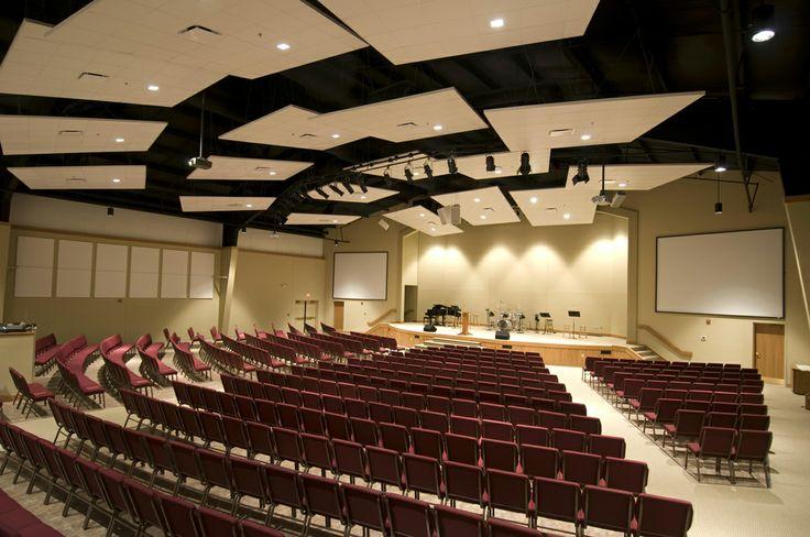 Sanctuary Platform Design   Rock Prairie Baptist Church Sanctuary Addition   Aspen Group