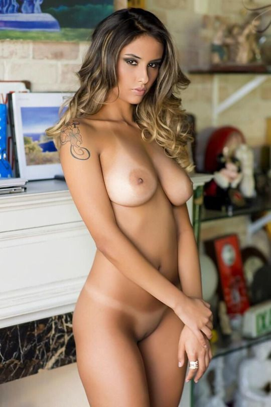 Hot tan naked