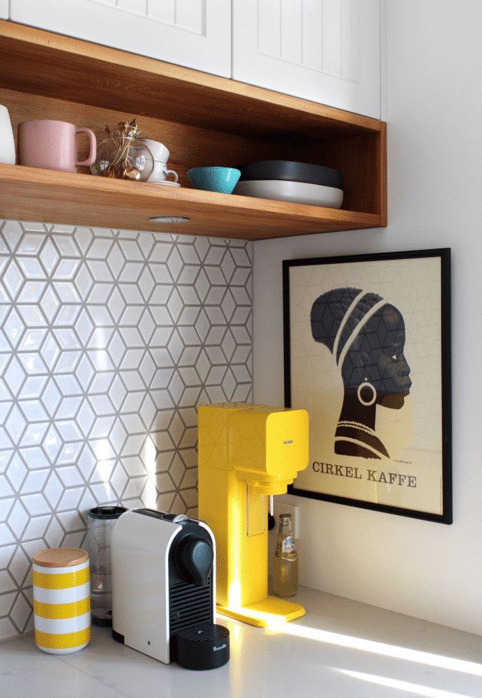 Фото из статьи: Кухонный фартук мечты: 66 крутых примеров