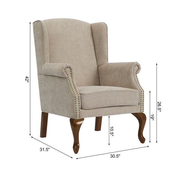 Overstock Com Online Shopping Bedding Furniture Electronics Jewelry Clothing More In 2021 Wingback Chair Chair Cheap Leather Chairs