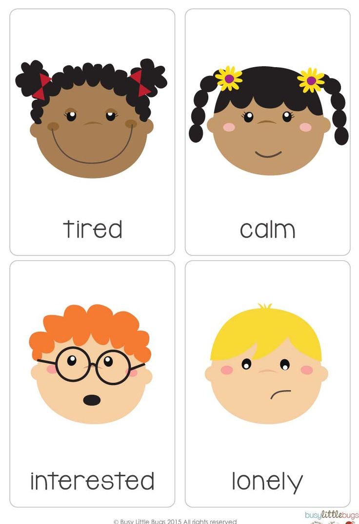 """Our """"Emotions Flash Cards"""" are a great learning tool for your children to learn all about their emotions! All cards are designed with bright colourful, high quality images."""