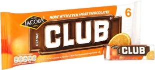 Jacobs Club Orange 6 Pack ~God I'd love one now....