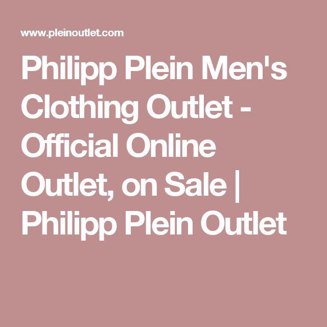 Philipp Plein Men's Clothing Outlet - Official Online Outlet, on Sale | Philipp Plein Outlet