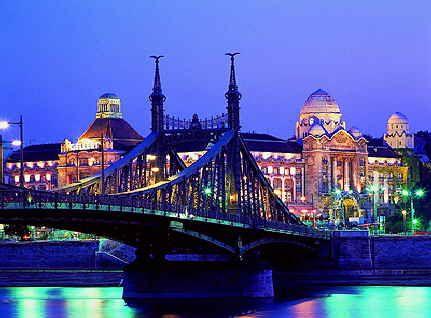 Budapest - Hungary, Szabadság híd - Freedom bridge