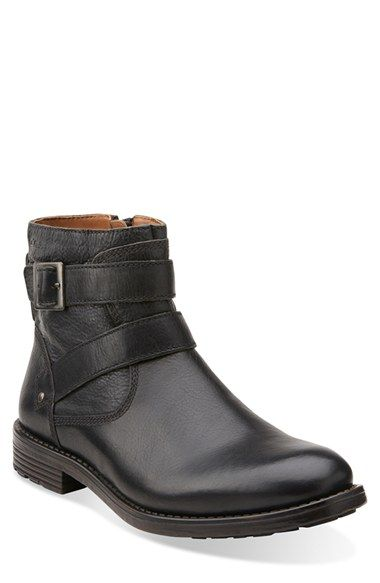 Clarks® 'Faulkner Top' Zip Boot (Men)