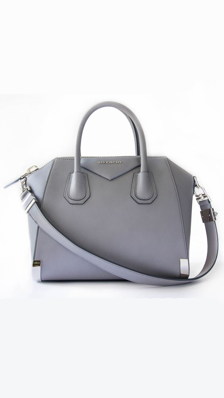 this grey bag | grab it and go | Pinterest | Beautiful Bags ...