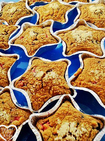 Sugar Free Muffin recipe   Sugar Free Kids