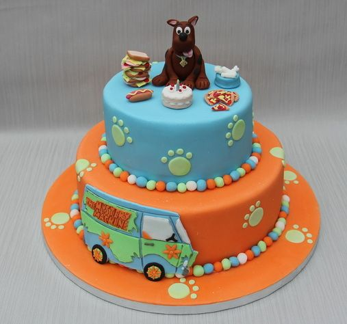28 best Scooby Doo Cakes images on Pinterest Scooby doo cake