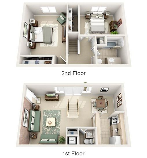 studio apartment floor plans 3d. 24 best My homeeyy  images on Pinterest Architecture Small houses and House design