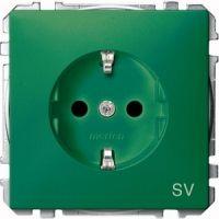 MERTEN MEG2300-4004 SCHUKO Steckdosen für Sonderstromkreise (SV) grün