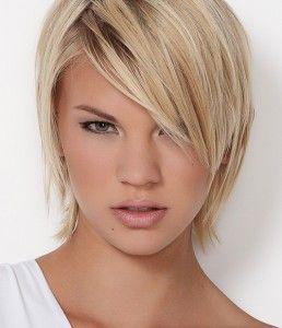 Verrukkelijke blonde halflange kapsels voor haar!