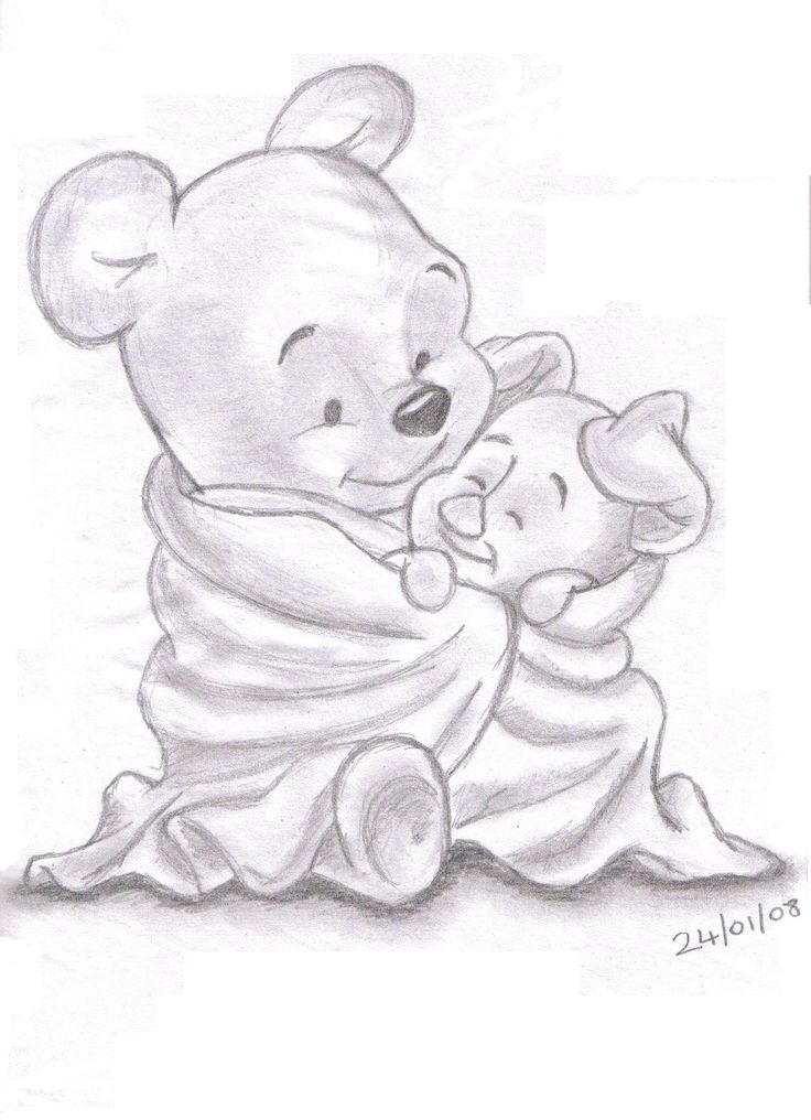 Pencil Drawings of Disney Characters | LandN83 / Albums / My Work and Sketches