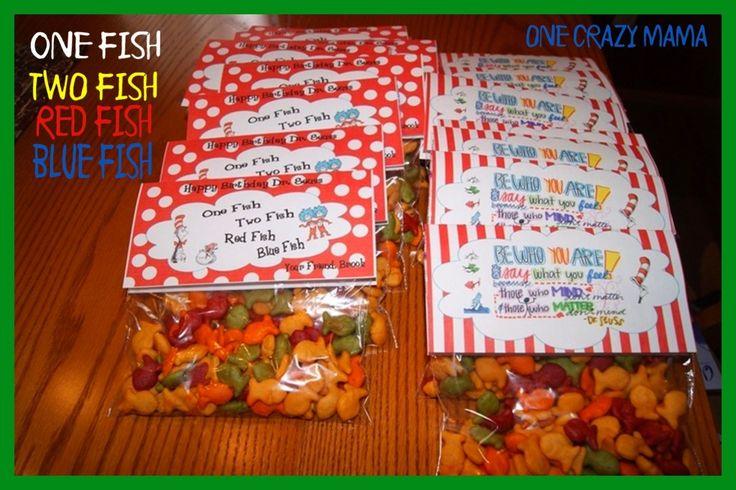 Dr. Seuss Treat Bag Topper Printables