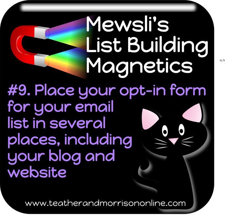 Catch up with Mewsli and the rest of the team at www.teatherandmorrisononline.com #Mewsli #Business #Listbuilding #Entrepreneur #Magnetic