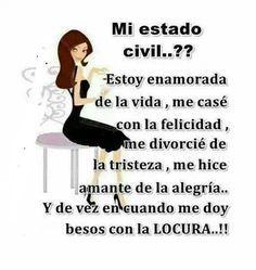 #estado #civil #soltera #happy #feliz