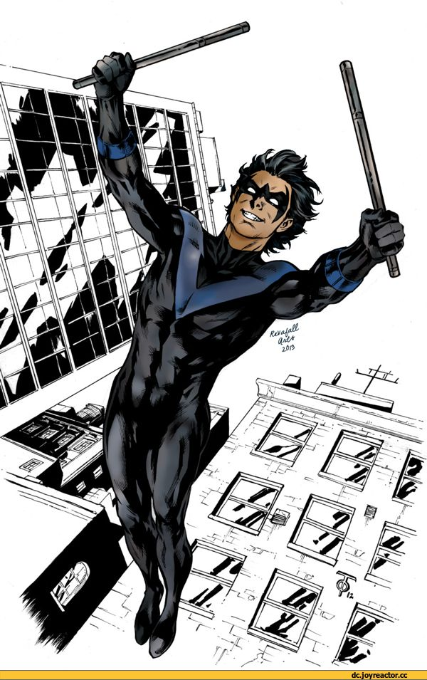Nightwing,Найтвинг, Дик Грейсон,Bat Family,DC Comics,DC Universe,фэндомы