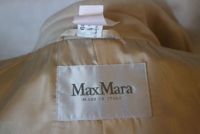 Max Mara - cappotto doppio petto, capo di sfilata