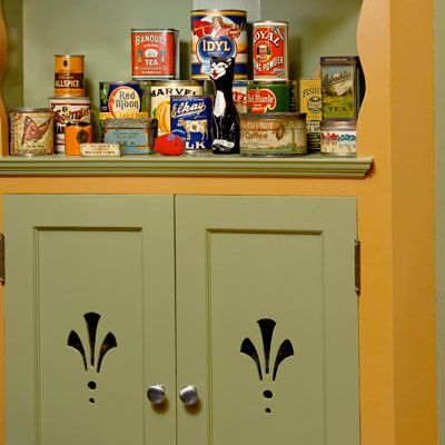 23 best cabinet stencils images on pinterest | kitchen cabinets