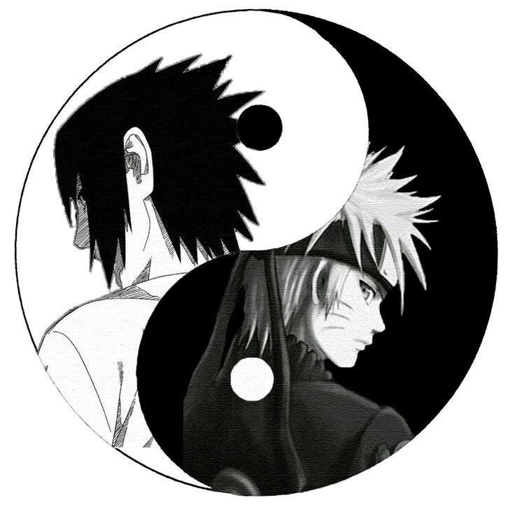 Naruro y Sasuke