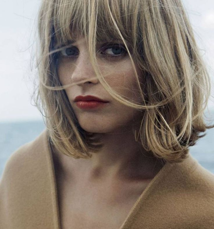 Coiffure avec frange : toute notre sélection d'idées Pinterest pour une coiffure avec frange - Elle