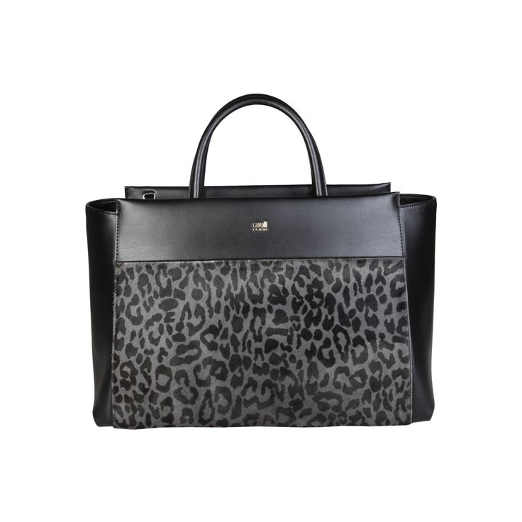 Cavalli Class – C00PW16C06M2  S/S Collection women's bag handbag has 2 handles, zip fastening, removable shoulder strap and a dust bag. Inside it, there are zipped pocket and patch pocket. It's outside and lining composed of leather and horsy leather and  100% CO, respectively. It is of size 39*26*14,5 cm.  https://fashiondose24.com