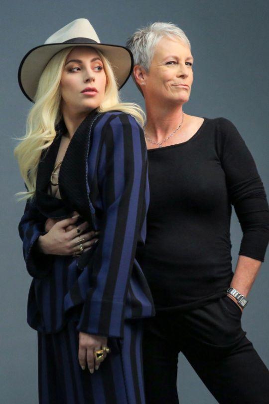 Lady Gaga &  Jamie Lee Curtis for Variety. 2016